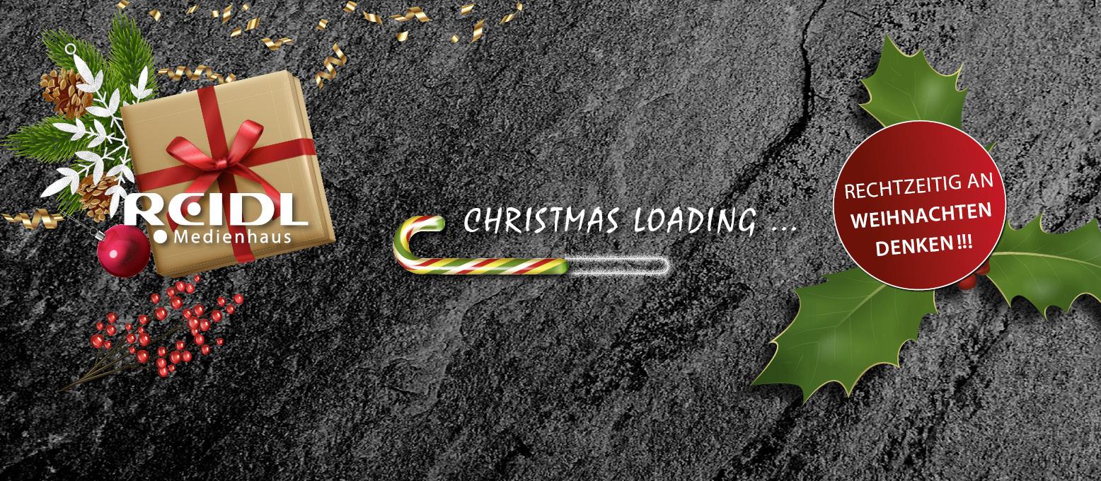 Titelbild Christmas loading Weihnachten